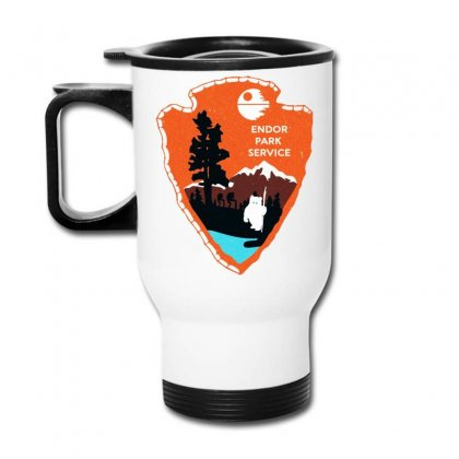 Endor Park Service Badge Travel Mug Designed By Dorothy Tees