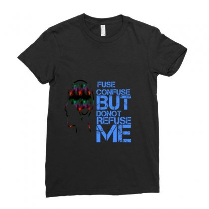 Fuse Ladies Fitted T-shirt Designed By Risiraj