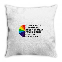 equal rights for others does not mean fewer rights for you it's not Throw Pillow   Artistshot