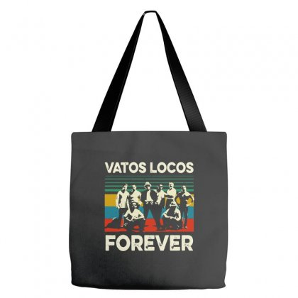 Vatos Locos Forever Vintage Tote Bags Designed By Smile 4ever