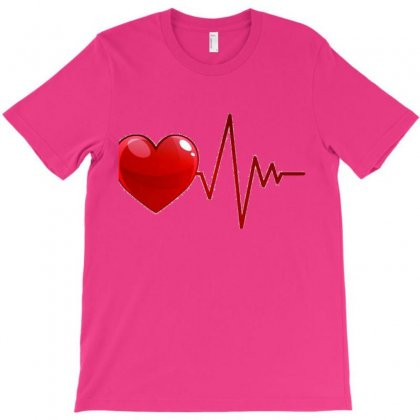 My Heart T-shirt Designed By Squeeze