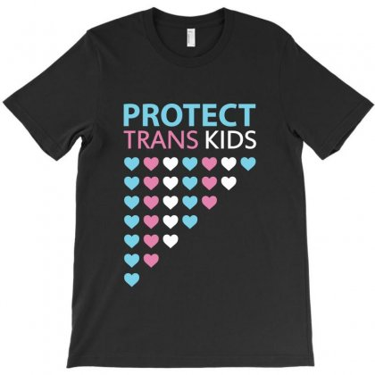 Protect Trans Kids Love T-shirt Designed By Helloshop