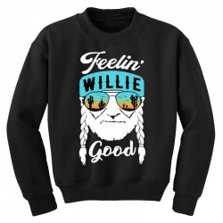 feeling good willie Youth Sweatshirt | Artistshot