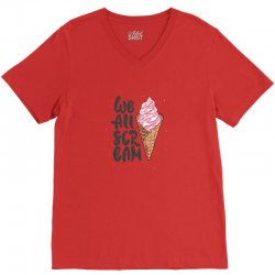 scream cute horror style recovered recovered V-Neck Tee | Artistshot