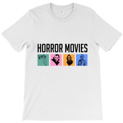 Horror Movies Fan T-shirt Designed By Cypryanus