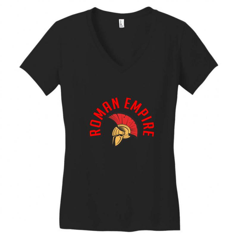 Roman Empire Women's V-neck T-shirt | Artistshot
