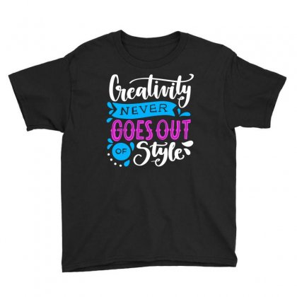 Creativity Style Youth Tee Designed By Designisfun