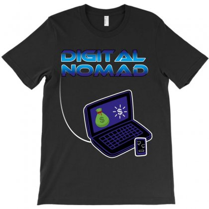 Digital Nomad T-shirt Designed By Wizarts