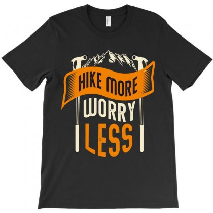Hiking T-shirt Designed By Wizarts
