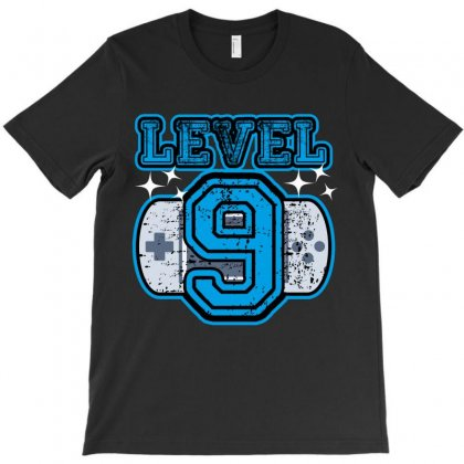 Level Nine T-shirt Designed By Wizarts