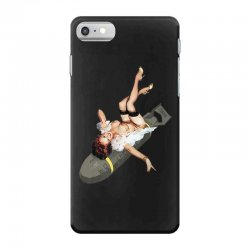Pin up Girl Bombs away WWII Poster Vintage iPhone 7 Case   Artistshot