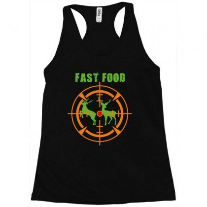 Fast Food Racerback Tank Designed By Wizarts