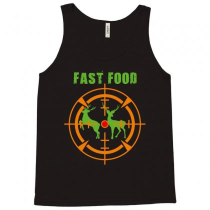 Fast Food Tank Top Designed By Wizarts