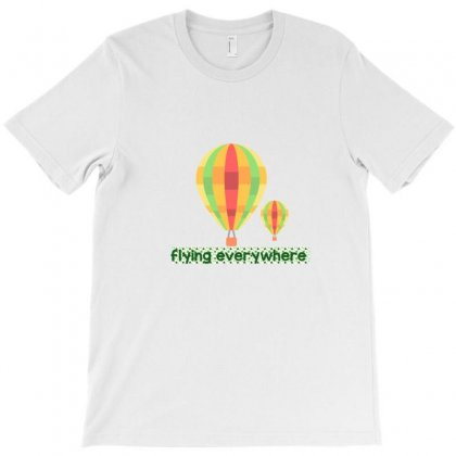 Flying Balloons T-shirt Designed By Digital Kamal