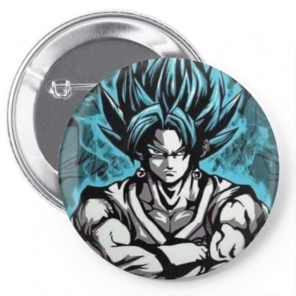 Anime Dragon Balls Pin-back Button Designed By Jack14
