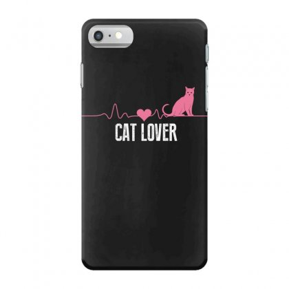 Cat Lover Iphone 7 Case Designed By Wizarts