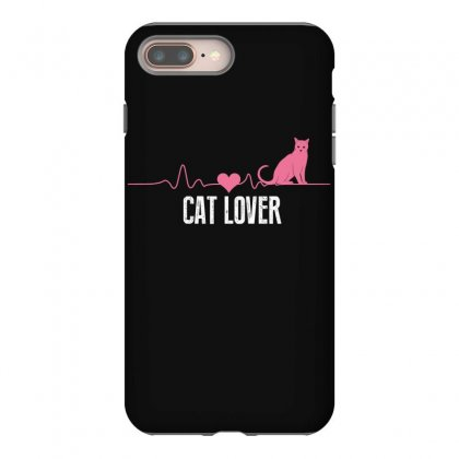 Cat Lover Iphone 8 Plus Case Designed By Wizarts