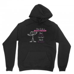 how to be a math person Unisex Hoodie | Artistshot