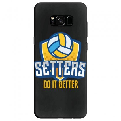 Setters Do It Better Samsung Galaxy S8 Case Designed By Wizarts