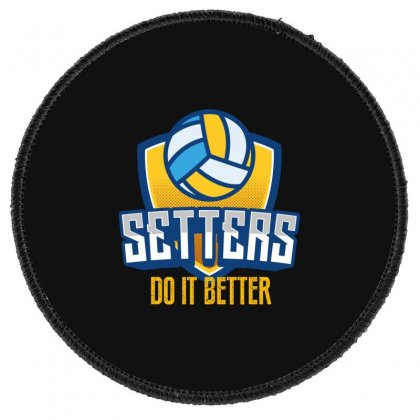 Setters Do It Better Round Patch Designed By Wizarts
