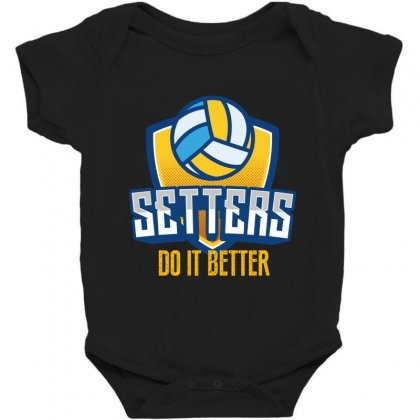 Setters Do It Better Baby Bodysuit Designed By Wizarts