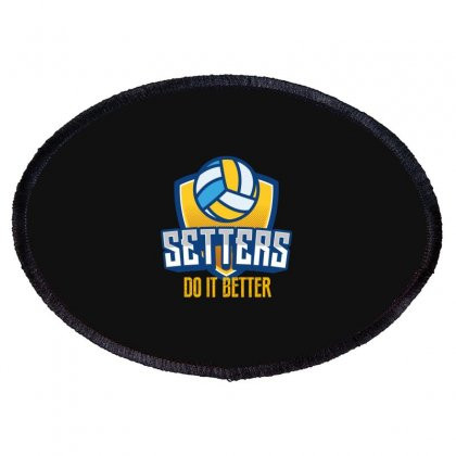 Setters Do It Better Oval Patch Designed By Wizarts