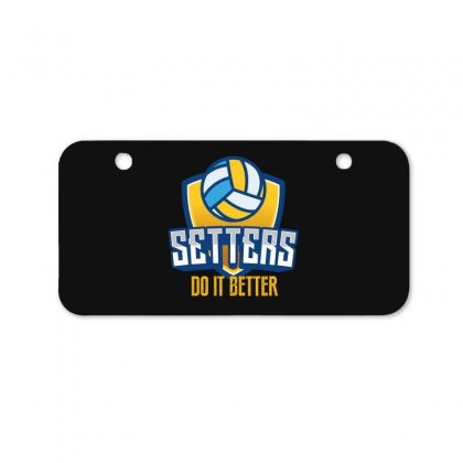 Setters Do It Better Bicycle License Plate Designed By Wizarts