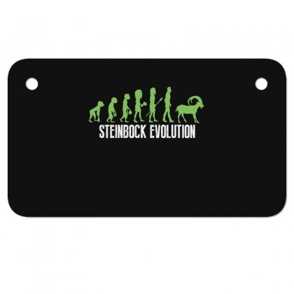 Steinbock Evolution Motorcycle License Plate Designed By Wizarts