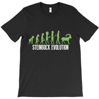 Steinbock Evolution T-shirt Designed By Wizarts