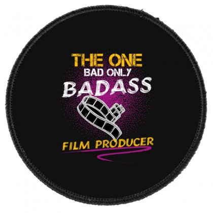 The One Day Only Badass Film Producer Round Patch Designed By Wizarts