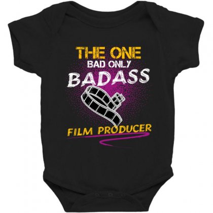 The One Day Only Badass Film Producer Baby Bodysuit Designed By Wizarts