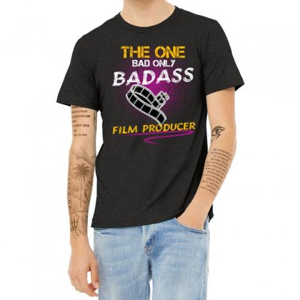 The One Day Only Badass Film Producer Heather T-shirt Designed By Wizarts