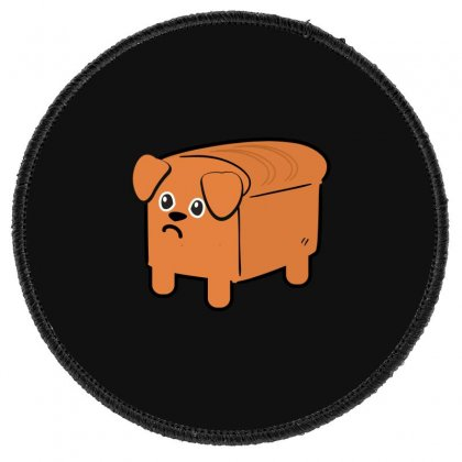 Dog Bread Round Patch Designed By Wizarts