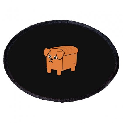 Dog Bread Oval Patch Designed By Wizarts