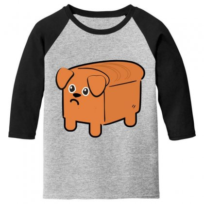 Dog Bread Youth 3/4 Sleeve Designed By Wizarts