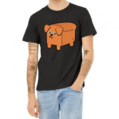 Dog Bread Heather T-shirt Designed By Wizarts