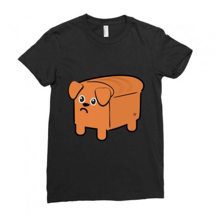 Dog Bread Ladies Fitted T-shirt Designed By Wizarts