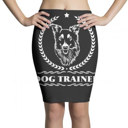 Dog Trainer Pencil Skirts Designed By Wizarts