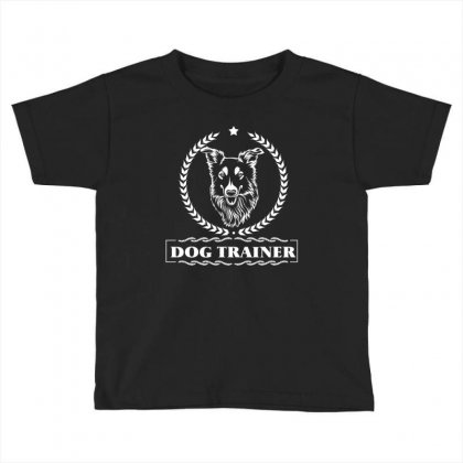 Dog Trainer Toddler T-shirt Designed By Wizarts