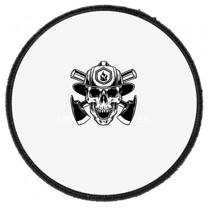 Fire Dept. Round Patch Designed By Wizarts