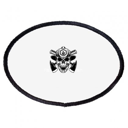 Fire Dept. Oval Patch Designed By Wizarts