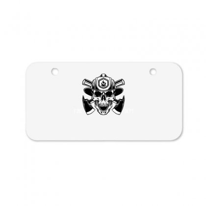Fire Dept. Bicycle License Plate Designed By Wizarts