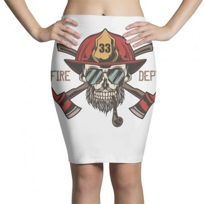 Fire Dept. 1 Pencil Skirts Designed By Wizarts