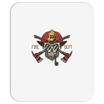 Fire Dept. 1 Mousepad Designed By Wizarts