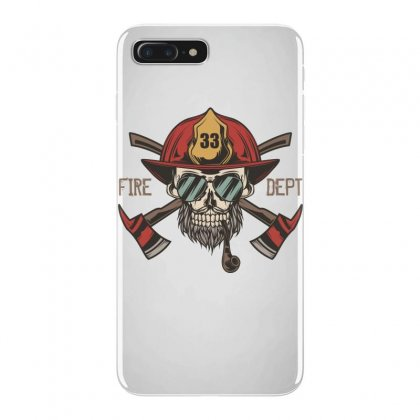 Fire Dept. 1 Iphone 7 Plus Case Designed By Wizarts