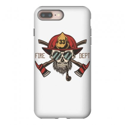 Fire Dept. 1 Iphone 8 Plus Case Designed By Wizarts