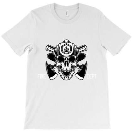 Fire Dept. T-shirt Designed By Wizarts