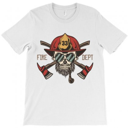 Fire Dept. 1 T-shirt Designed By Wizarts