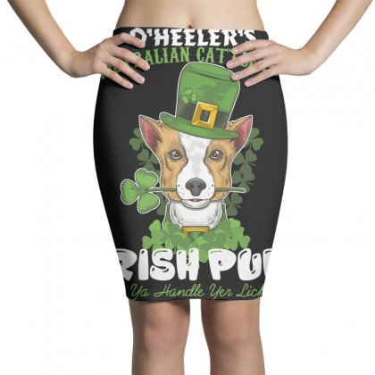 Heeler Australian Cattle Dog Irish Pub Can You Handle Yes Licker Pencil Skirts Designed By Wizarts