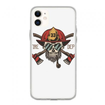Fire Dept. 1 Iphone 11 Case Designed By Wizarts
